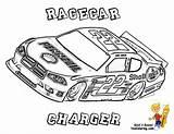 Coloring Race Cars Sports Nascar Racing Carlo Monte Track Mega Template Printable Colouring Kleurplaat Truck Joey Logano Dodge Fan Boys sketch template