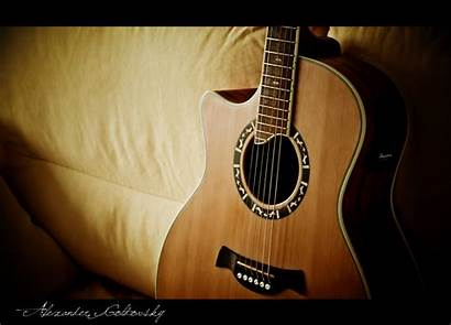 Guitar Acoustic Wallpapers Awesome Sofa Cool Hdwallpaperfun
