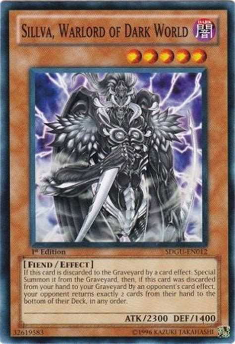 Gates Of The Underworld Structure Deck by Sillva Warlord Of World Sdgu En012 Common 1st