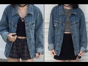 2 Grunge aesthetic outfits - YouTube