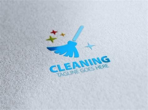 cleaning logos  editable psd ai vector eps
