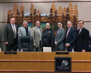 mill creek city council receives preliminary biennial budget
