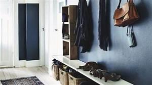 deco entree couloir palier With idee deco entree maison 5 15 idees de rangements pratiques et astucieuses
