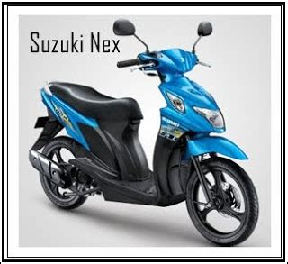 top motorcycle 2012 suzuki nex colors and specs
