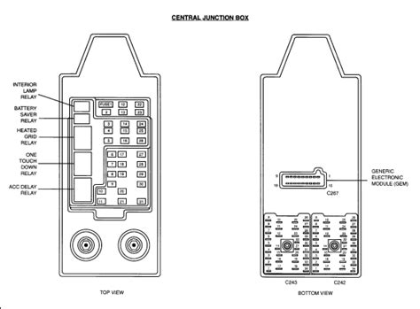 2001 Lincoln L Fuse Diagram by Could You Show Diagram Of Fuse Panel For 2002 Ford