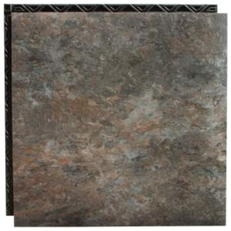 vinyl plank flooring underlayment home depot place n go blue shale 18 5 in x 18 5 in interlocking