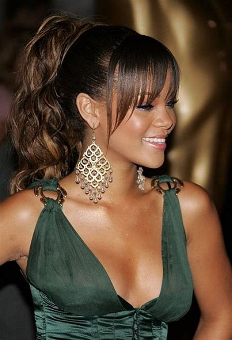 black ponytail hairstyles  ponytail hairstyles