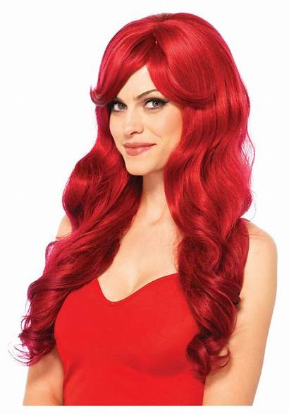 Wig Wavy Wigs Hair Halloween Costumes Redhair