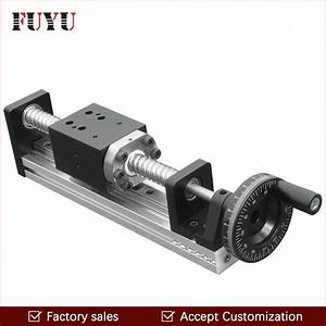 Fls40 Free Shipping Cnc Manual Driven Ball Screw Linear