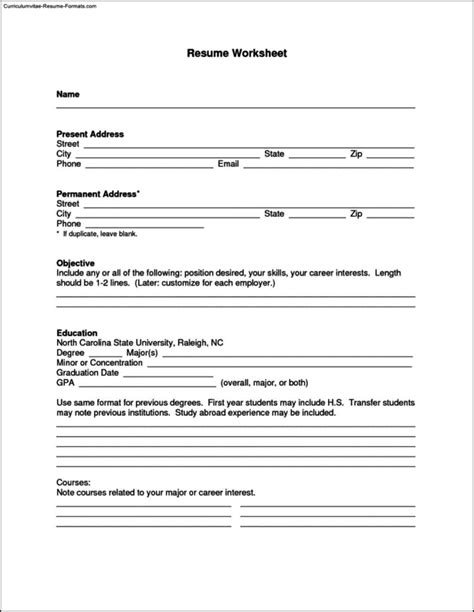 Really Free Resume Templates by Really Free Resume Templates Free Sles Exles