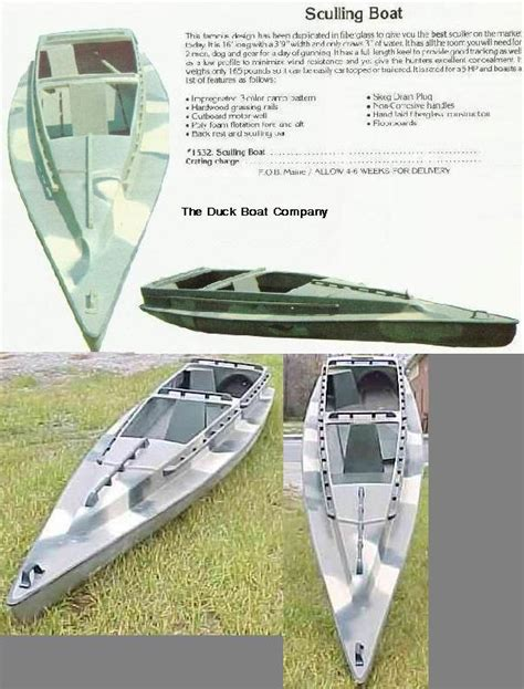 Sculling Duck Boat Plans scull boats