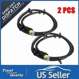2x Abs Wheel Speed Sensor Wire Harness Plug Pigtail For Buick Chevy Gm  10340314