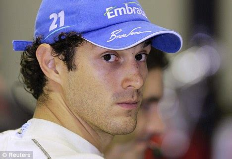 Bruno Senna Won't Drive For Hrt In 2011  Daily Mail Online