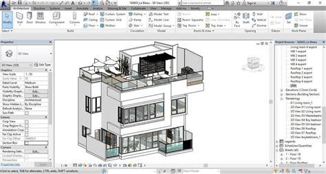 revit  model kerala houses house layout plans revit architecture