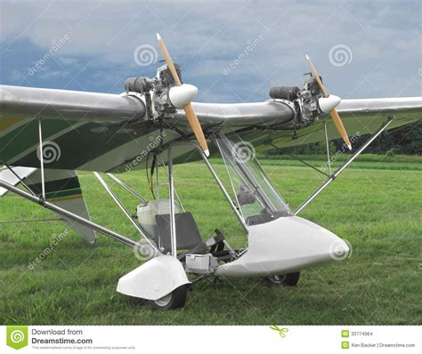 ultra light airplanes for engine ultralight aircraft stock photo image of up