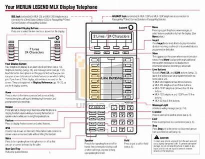 Mlx Pdf 16dp Merlin Avaya Telephone Legend