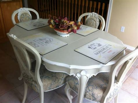 chalk paint table and chairs kitchen table and chairs painted with chalk paint