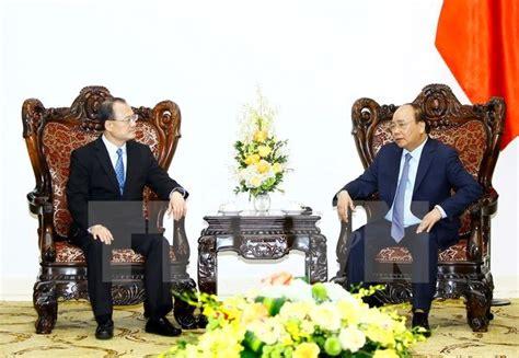 chambre de commerce de hong kong le premier ministre reçoit le président de la chambre de