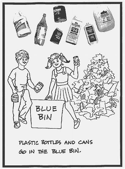 Recycling Coloring Pages Educational Coloringbookfun