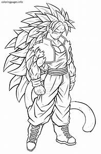 goku super saiyan 5 coloring pages | Goku | Pinterest ...