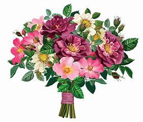 Image result for bouqet flowers clip art