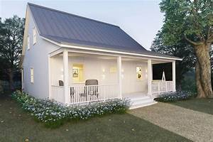 cottage style house plan 2 beds 2 baths 1616 sq ft plan With 2 story metal building home plans