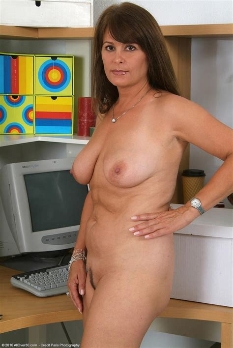 busty mature stripping naked in her office pichunter