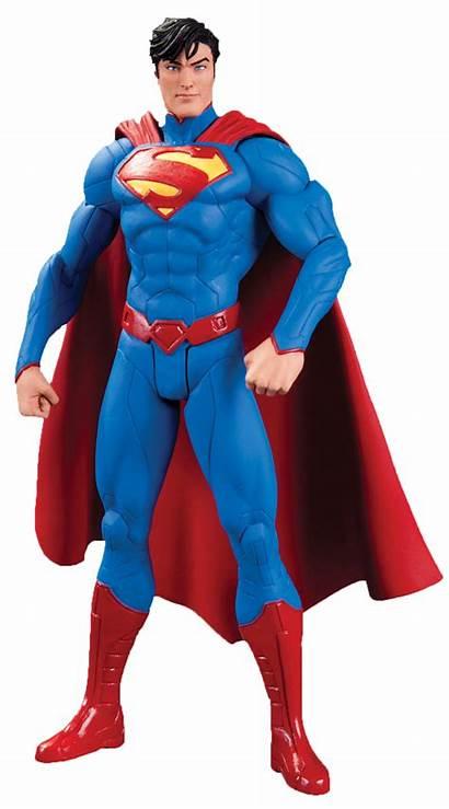 Superman Action Figure Justice League Clipart Dc