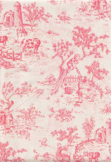 pink toile bedding isabella pink toile king size duvet cover