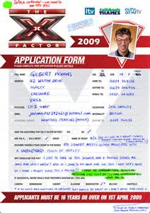 photobooth software application form application for x factor