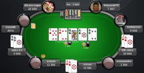 Jouez Au Poker Texas Hold'em En Ligne