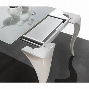 Table En Verre Pas Cher : table repas extensible paris en verre et plexiglas achat ~ Teatrodelosmanantiales.com Idées de Décoration