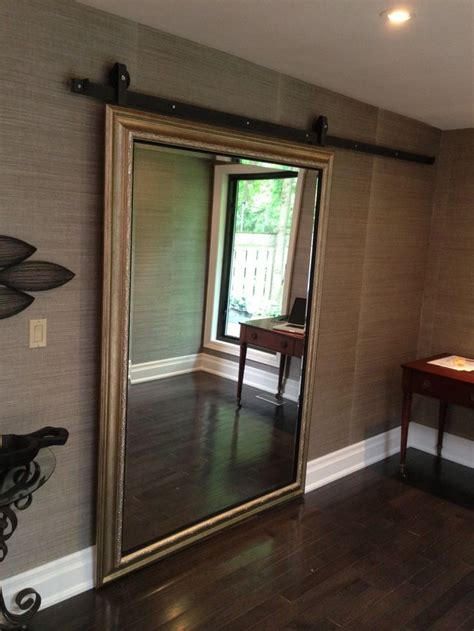 mirrors doors  full length mirror   great addition