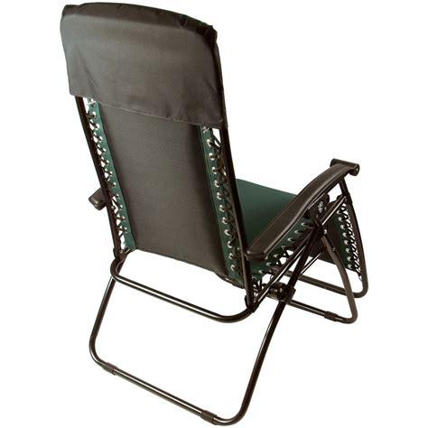 azuma zero gravity garden relaxer lounge chair green ebay