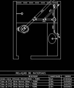 Plumbing Detail DWG Detail for AutoCAD • Designs CAD