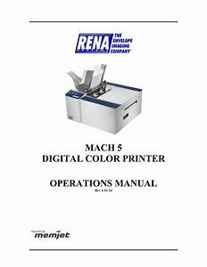 Rena Mach 5 Troubleshooting Guide