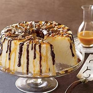 Chocolate-Caramel Angel Food Cake Recipe MyRecipes