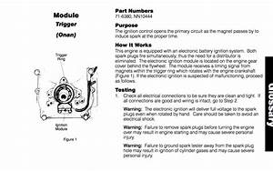 My Onan Doesn U0026 39 T Have Spark        - Wheel Horse Electrical