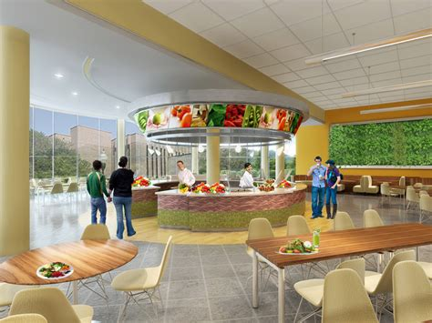 dining hall facelift