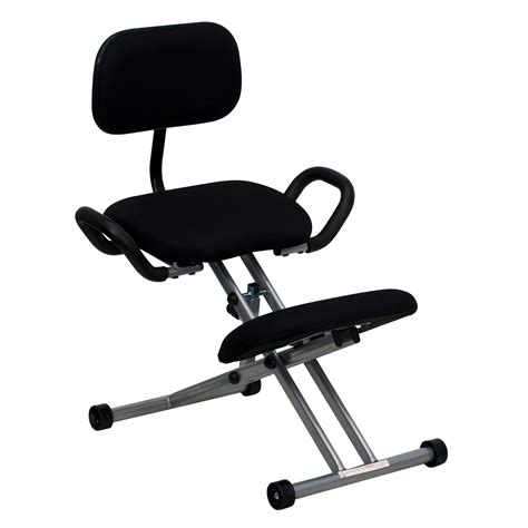 ergonomic kneeling desk chair ergonomic kneeling chair