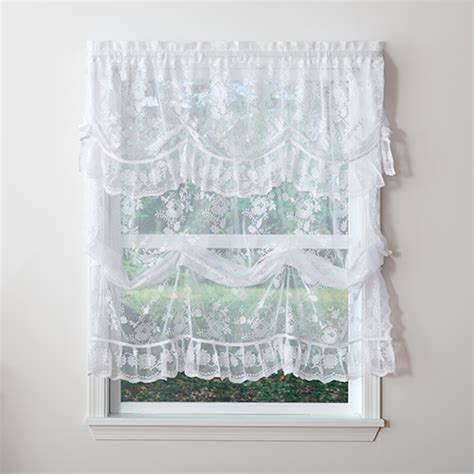 Boscovs Lace Curtains by Alison Jacquard Lace Balloon Shade Boscov S