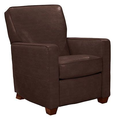 midtown low profile recliner by la z boy chocolate