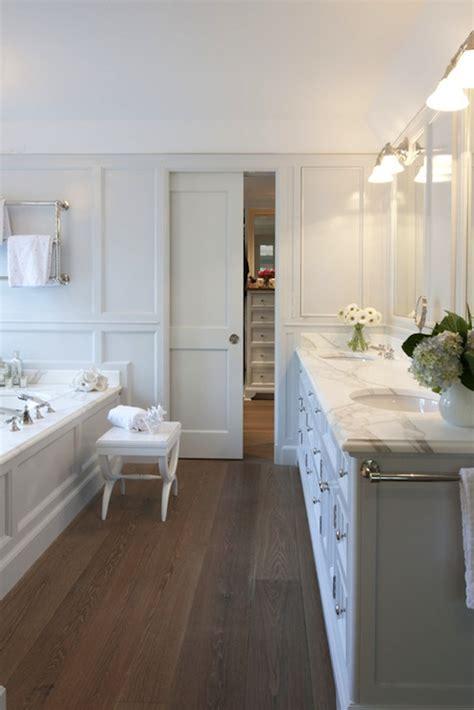 Light Gray Bathroom  Transitional Bathroom
