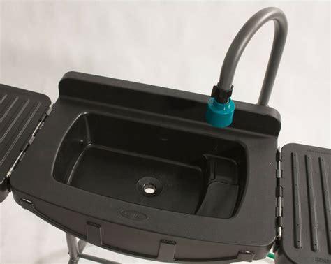 Garden Hose Sink instant outdoor sink garden hose portable work table