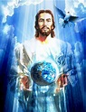 Jesus Holding the earth by panlasi2009 on DeviantArt