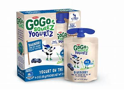 Blueberry Yogurt Gogo Squeez Fat Low Pouch
