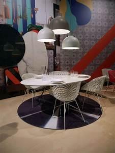 tapis kartell carpet o 200 cm noir metallise kartell With tapis design avec kartell canapé