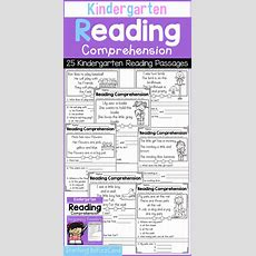 Kindergarten Reading, Comprehension And Kindergarten On Pinterest