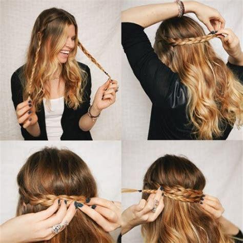 Modu00e8le coiffure tresse simple et rapide