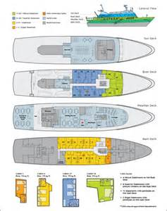 galapagos luxury yacht eclipse deck plan luxury charters